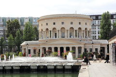 The Rotunda of Paris. Historic monument in the heart of Paris Stock Photos