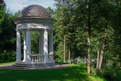 Rotunda in a park Royalty Free Stock Image