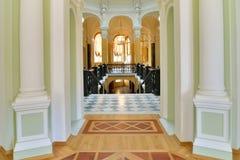 Rotunda pod rękami przy Gatchina pałac Obrazy Stock