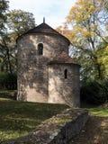 Rotunda of Saint Nicolas, Castle Hill, Cieszyn, Poland, royalty free stock images