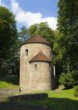 Rotunda of Saint Nicolas, Cieszyn, Poland stock photo