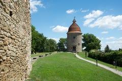 Rotunda in the Skalica, Slovakia stock image