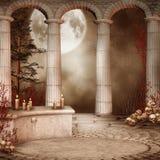 Rotunda with skulls Stock Photography
