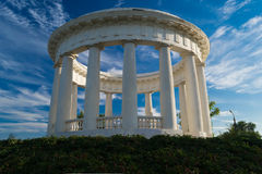 Rotunda. In a small Russian town Stock Image