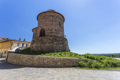 Rotunda of St. Catherine, Znojmo, Czech stock image