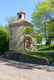 Rotunda of St. Martin. In Prague, Czech Republic Royalty Free Stock Images