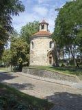 Rotunda svatého Martina Vyšehrad, Prague stock image
