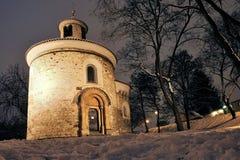 Rotunda. Of St. Martin in Vyšehrad Stock Photos