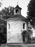 Rotunda of St. Martin on Vysehrad, Prague, Czech Republic. royalty free stock images