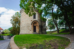 The Rotunda of St Martin in Vysehrad Royalty Free Stock Images