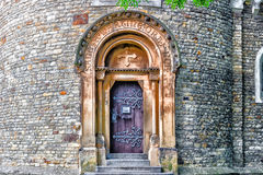 The Rotunda of St Martin in Vysehrad stock images