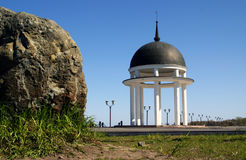 Rotunda and stone Stock Photography