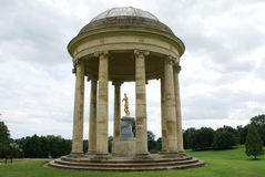 The Rotunda, Stowe landscape, England Royalty Free Stock Photo
