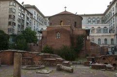 Rotunda Sveti Georgi or St George in Sofia, Bulgaria. Rotunda Sveti Georgi in Sofia, Bulgaria Royalty Free Stock Photos