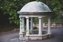 Rotunda w parku Pyatigorsk, Rosja Zdjęcia Stock