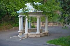 Rotunda w parku Pyatigorsk, Rosja Zdjęcie Stock