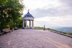 Rotunda w parku Pyatigorsk, Rosja Obraz Stock