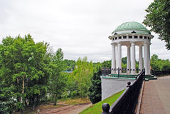 Rotunda in Yaroslavl. Rotunda on the embankment in Yaroslavl, Russia Royalty Free Stock Photo