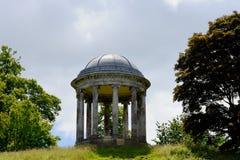 Rotundan, Petworth hus, västra Sussex, England royaltyfria foton