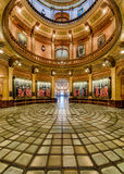 Rotundy szklana podłoga Michigan Capitol Fotografia Royalty Free