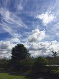 Rotura de la nube Fotografía de archivo libre de regalías