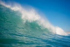 Rotura de la orilla que causa un crash Fotografía de archivo libre de regalías