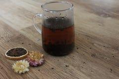 Rotura de té Fotografía de archivo
