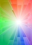 Rotura del color ilustración del vector