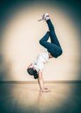 Rotura del hip-hop o bailarín de la calle foto de archivo libre de regalías