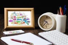 Rotura del negocio Imagen de archivo libre de regalías