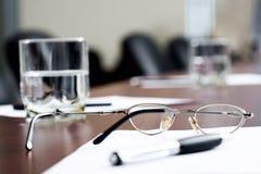 Rotura en la reunión de negocios Fotografía de archivo libre de regalías