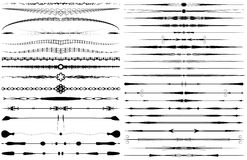 Roturas del texto Imagen de archivo