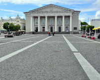 Rotuse in Vilnius Royalty-vrije Stock Afbeeldingen