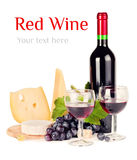 Rotwein lizenzfreie stockfotografie