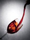 Rotwein lizenzfreies stockbild