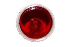 Rotwein, die Draufsicht. Lizenzfreie Stockfotos