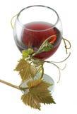 Rotwein-Flasche Lizenzfreies Stockfoto