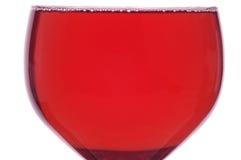 Rotwein-Glas Lizenzfreie Stockfotos