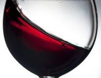 Rotwein im Weinglas Lizenzfreies Stockbild
