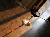 Rotwein-Schatten Stockfoto