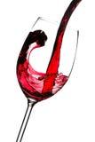 Rotweinspritzen Lizenzfreies Stockbild