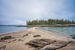 Rotwild-Insel, Maine lizenzfreie stockfotos
