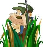 Rotwild-Jagd am Sommer. Stockbilder