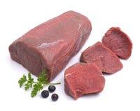 Rotwildfleisch Lizenzfreies Stockbild
