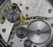 Rouage d'horloge à l'intérieur Photo libre de droits