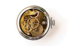 Rouage d'horloge de cru Images libres de droits