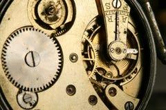 Rouages d'horloge Images libres de droits