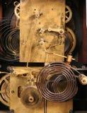 Rouages d'horloge en couleurs Image stock