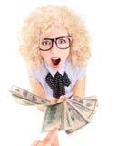 Roubando ou pagando demasiado conceito dos impostos Imagem de Stock Royalty Free