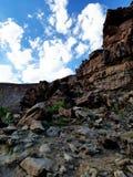 Roubideau峡谷 免版税库存图片